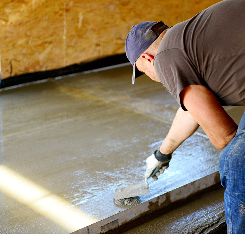 Self-Leveling Concrete in Raleigh, North Carolina