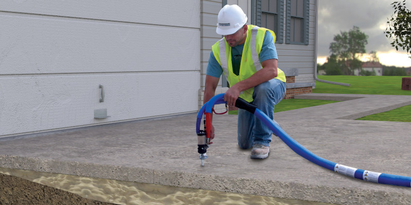 Concrete Leveling Foam in Raleigh, North Carolina