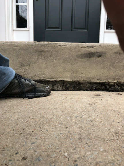 Concrete Step Leveling in Durham, North Carolina